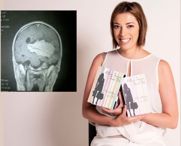 Claire Bullimore was diagnosed with a Intraventricular Meningioma - A Brain Tumour's Travel Tale